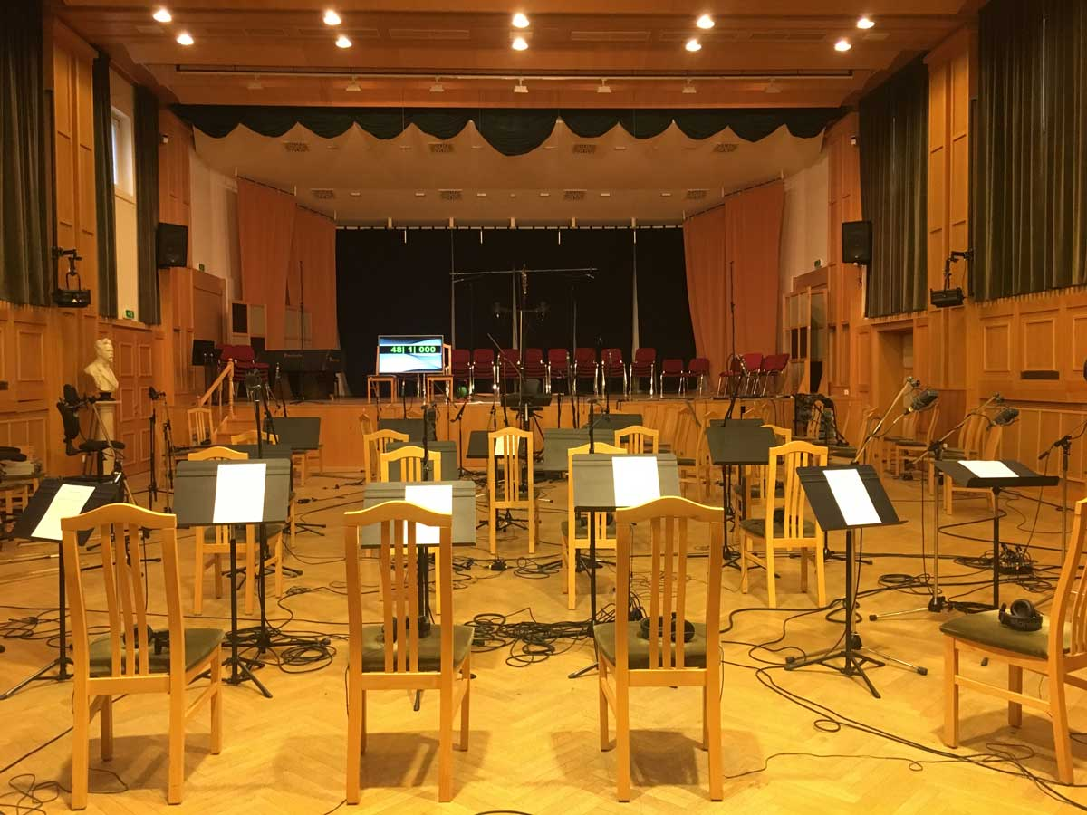 Orchestra Music Stands Hall
