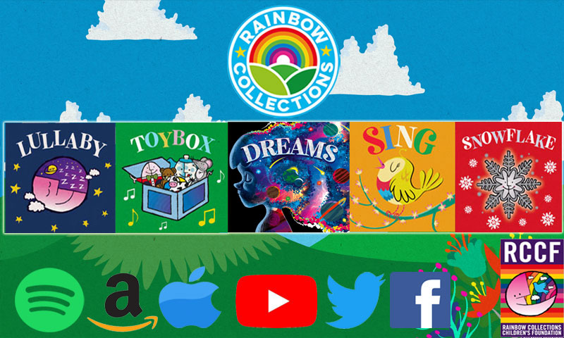 Rainbow Collections Childrens Music Sophie Barker and KK (Kevin Kerrigan).. Lullaby, Toybox, Snowflake