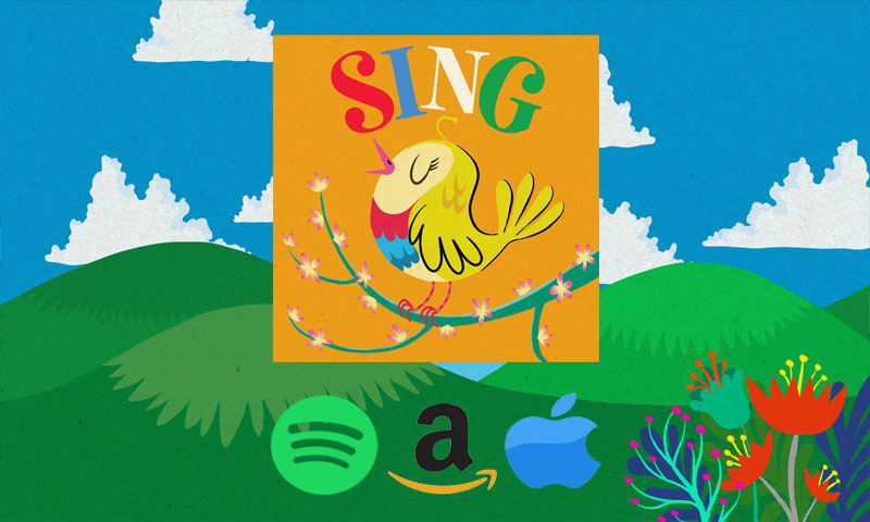Rainbow Collections Childrens Music Sophie Barker and KK (Kevin Kerrigan).. Sing, Lullaby, Toybox, Snowflake